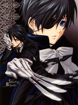 Black Butler обложка